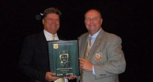 Jim Owen Receives Second Career Dave Williams Award
