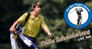 Schniederjans a Semifinalist for Ben Hogan Award