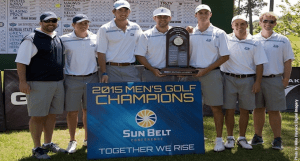 Georgia Southern Men's Golf Wins Sun Belt Championship