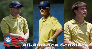 Three Tech Golfers Named All-America Scholars