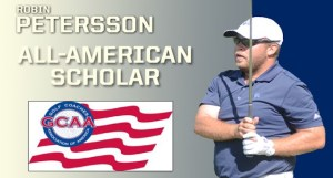Petersson Named All-American Scholar By Golf Coaches Association Of America