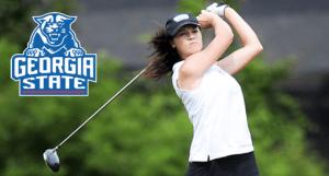 Gregson and Sari Lead Women's Golf at FIU Pat Bradley Invitational