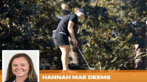 Deems Wins Georgia Women's Match Play Championship