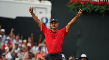 Woods Thrills East Lake Fans with First Victory in 5 years; Almost Wins FedExCup