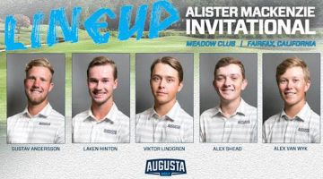 AU Cards 12th At Alister MacKenzie Invitational