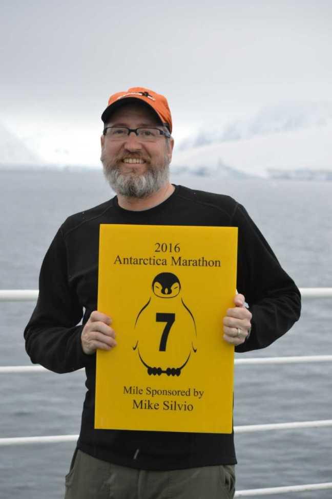 Silvio in Antarctica
