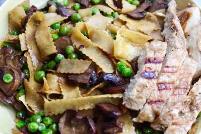 Vegemite Pasta Close Up