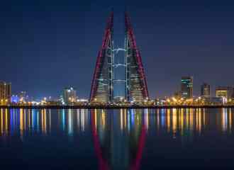 Manama, the capital of Bahrain