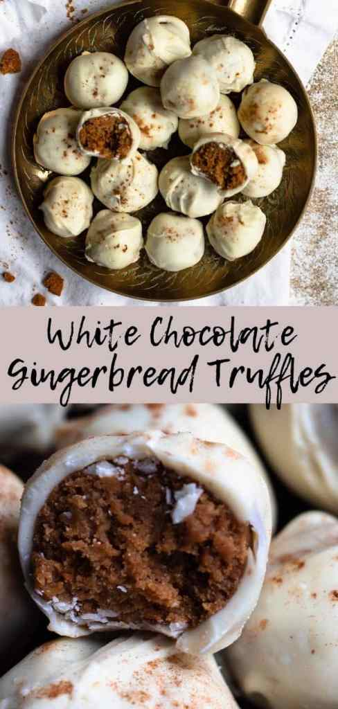Gingerbread Truffle Pinterest Graphic