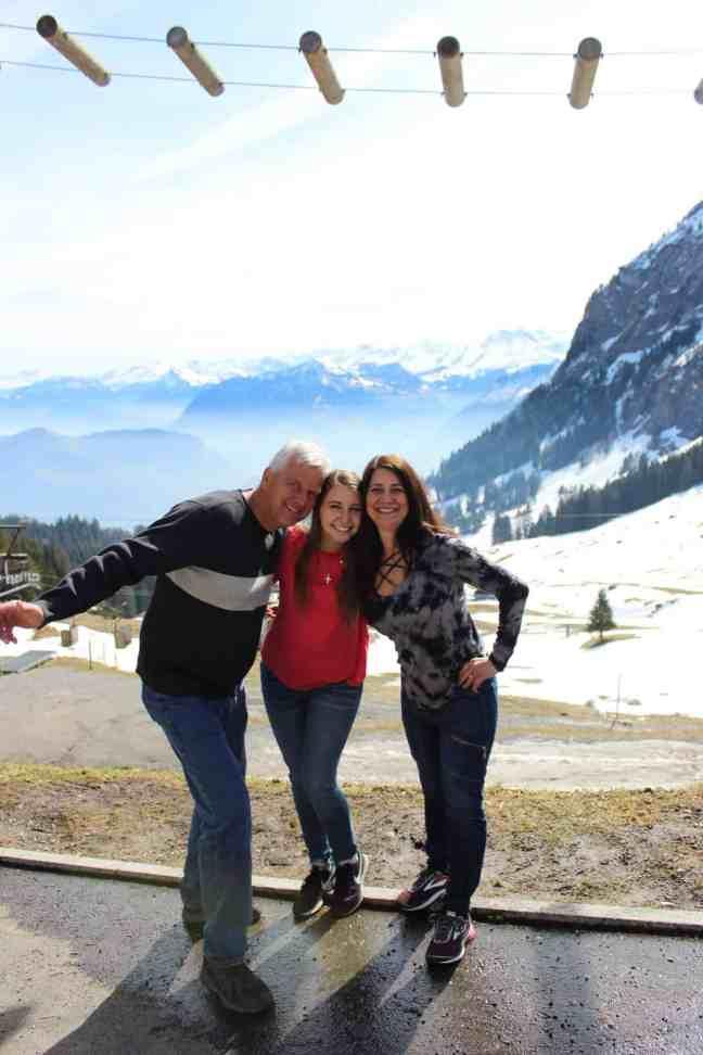Mt Pilatus in Switzerland