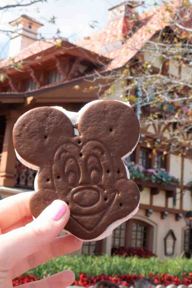 Best Disney snacks: Mickey ice cream sandwich