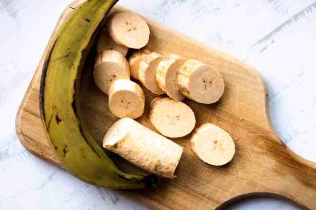 Raw plantains