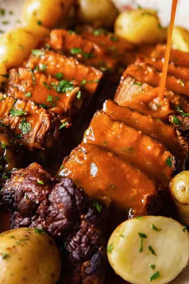 European-Inspired Instant Pot recipes brisket in guinness gravy