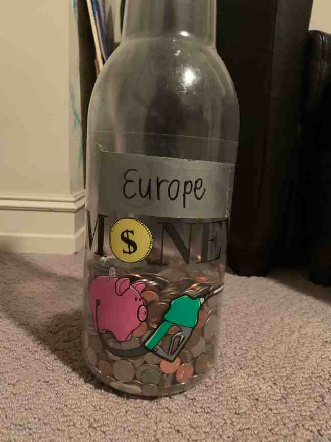 How I afforded to travel europe as a college student : collected change