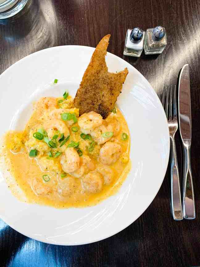 Shrimp and Grits from American Sector