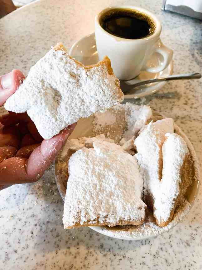Best food in New Orleans: Beignets from Cafe du Monde