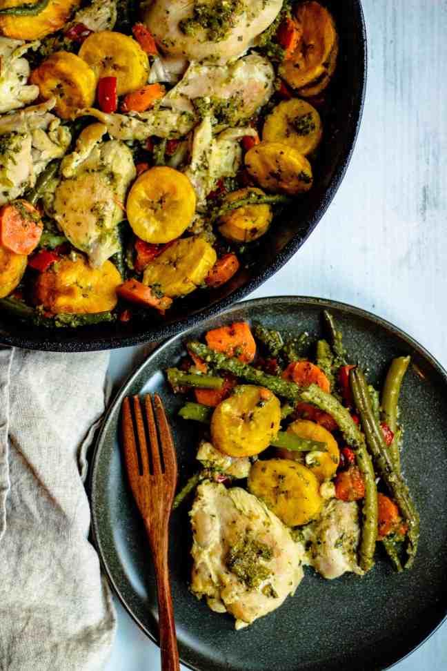 best plantain recipes. cast iron skillet chicken thighs