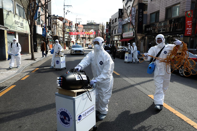 Coronavirus Fears Halt U.S. Military Exercises with South Korea