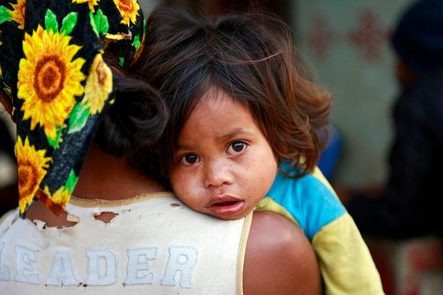 Mother & Child in Timor Leste, courtesy UN Photo/Flickr
