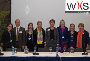 The WIIS Switzerland Board plus speakers at the 2011 launch event