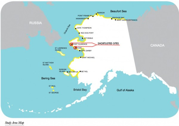 Point Thompson Alaska Map.New Suitability Study On Deep Draft Ports In Alaska Cryopolitics
