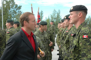 Min. of Defense Peter McKay