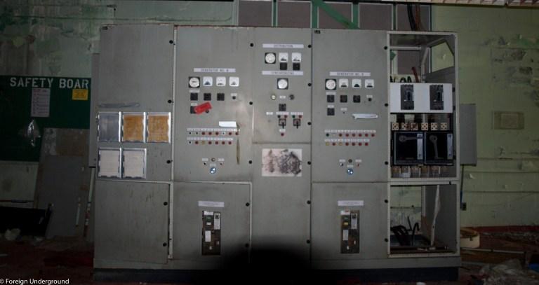 Abandoned U S Navy Facility Foreign Underground
