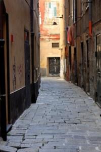 One of Genoa's Caruggi