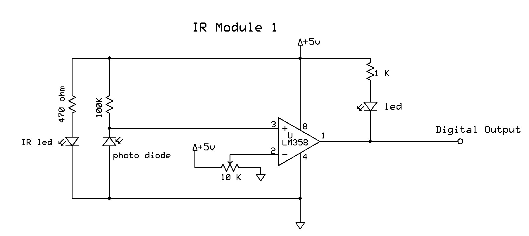 hight resolution of ir photo diode sensor copy