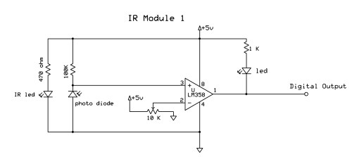 small resolution of ir photo diode sensor copy