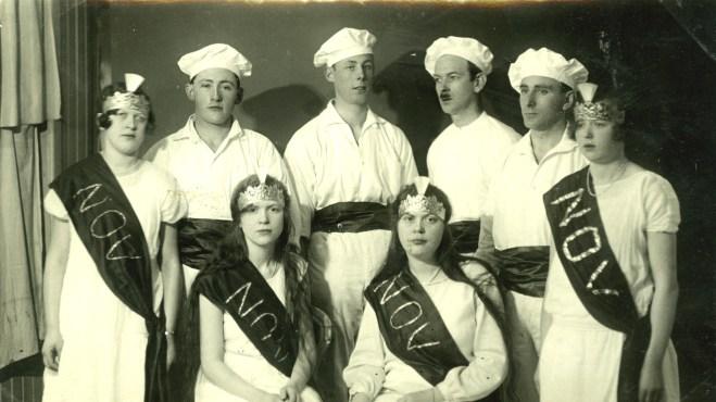 Luciatåg Verdandi Mölndal 1927