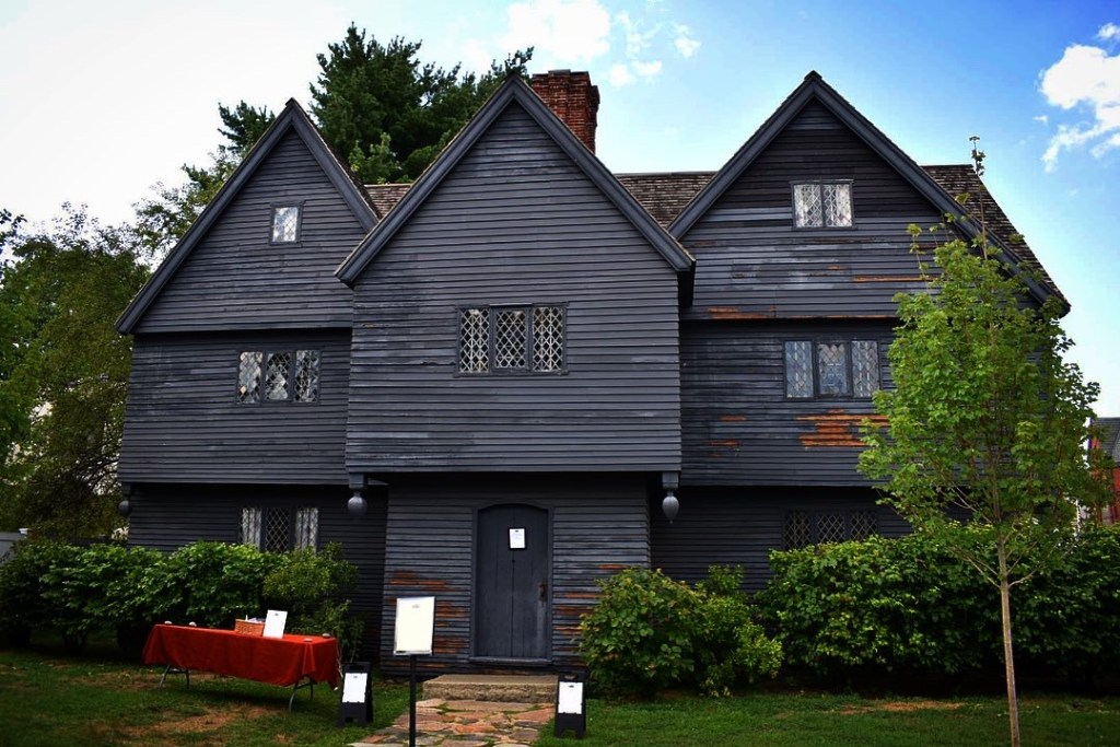 The Witch House belonging to witch judge Jonathan Corwin