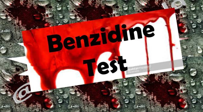 Benzidine Test