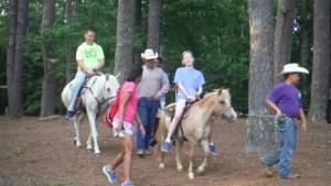 participants on horseback
