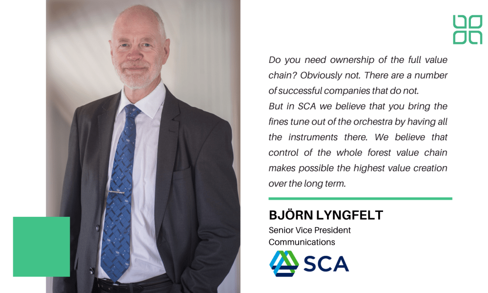 New Forest Investments Frontiers:  Interview with Björn Lyngfelt of Svenska Cellulosa Aktiebolaget (SCA).