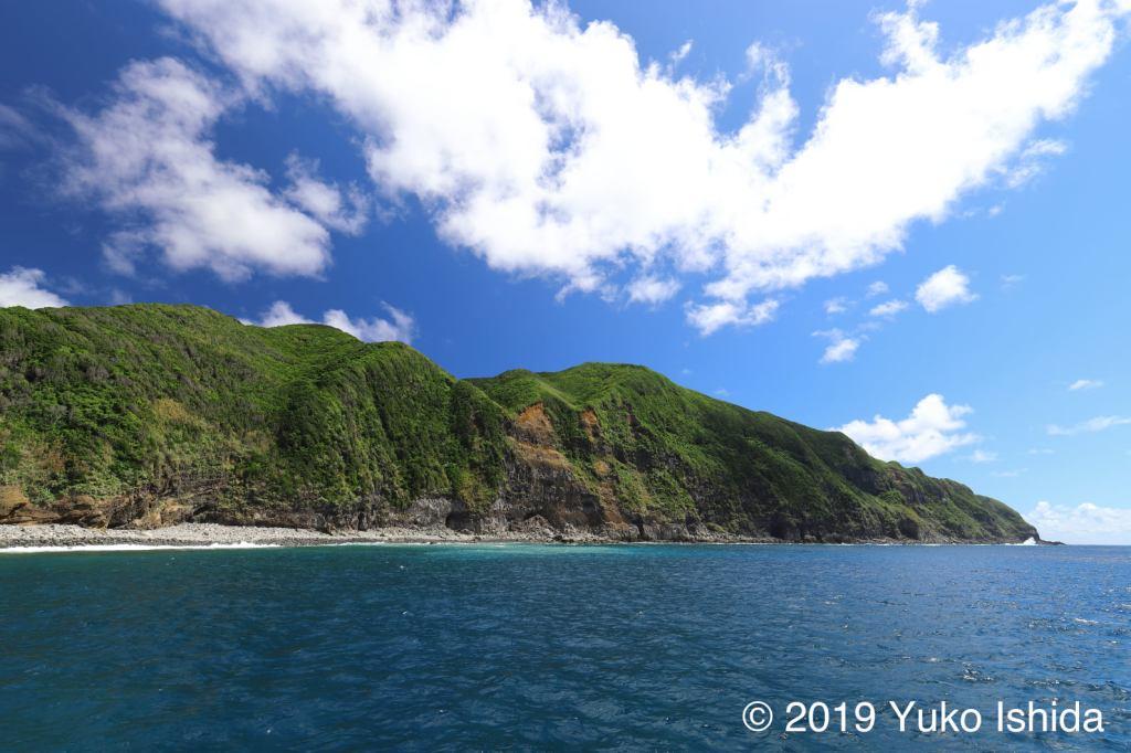 夏の八丈島藍ヶ江