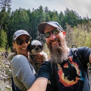 Scott, Carolita & Indi McGee