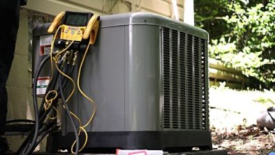 air conditioning repair gauge testing