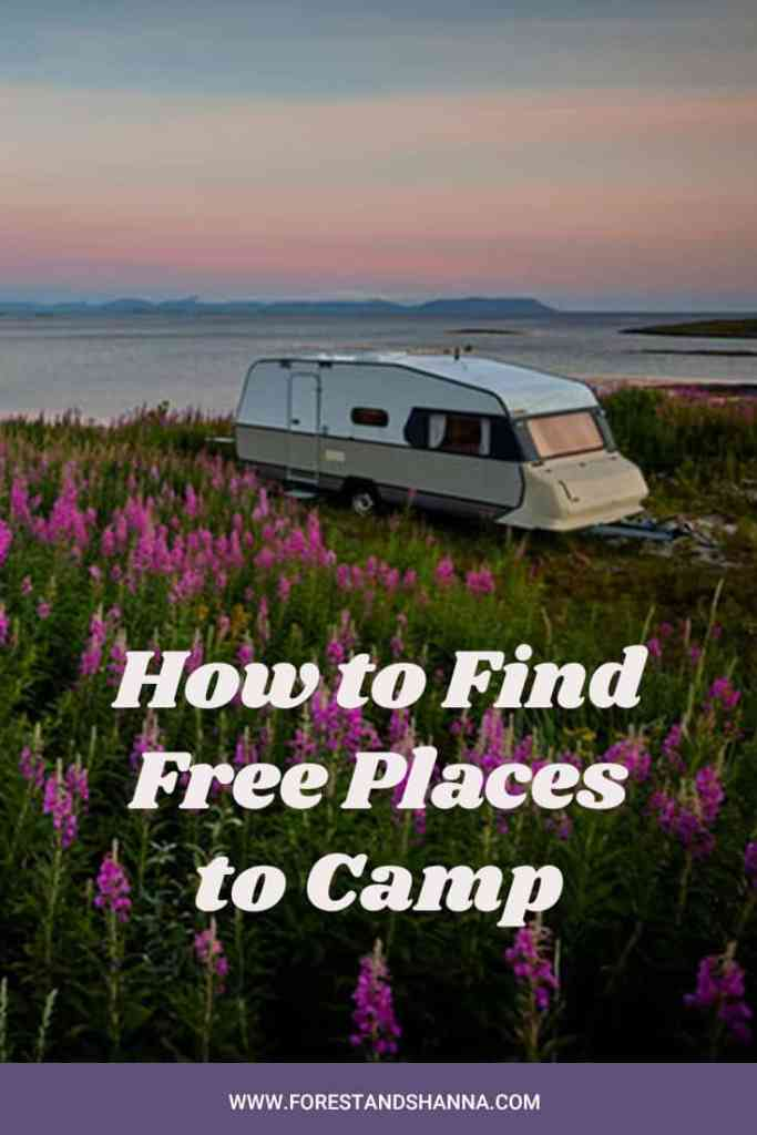 How to Find Free Places to Camp