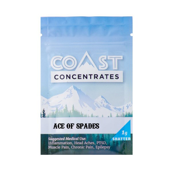 forestcitygreen.com Ace of Spades Coast Concentrates Shatter