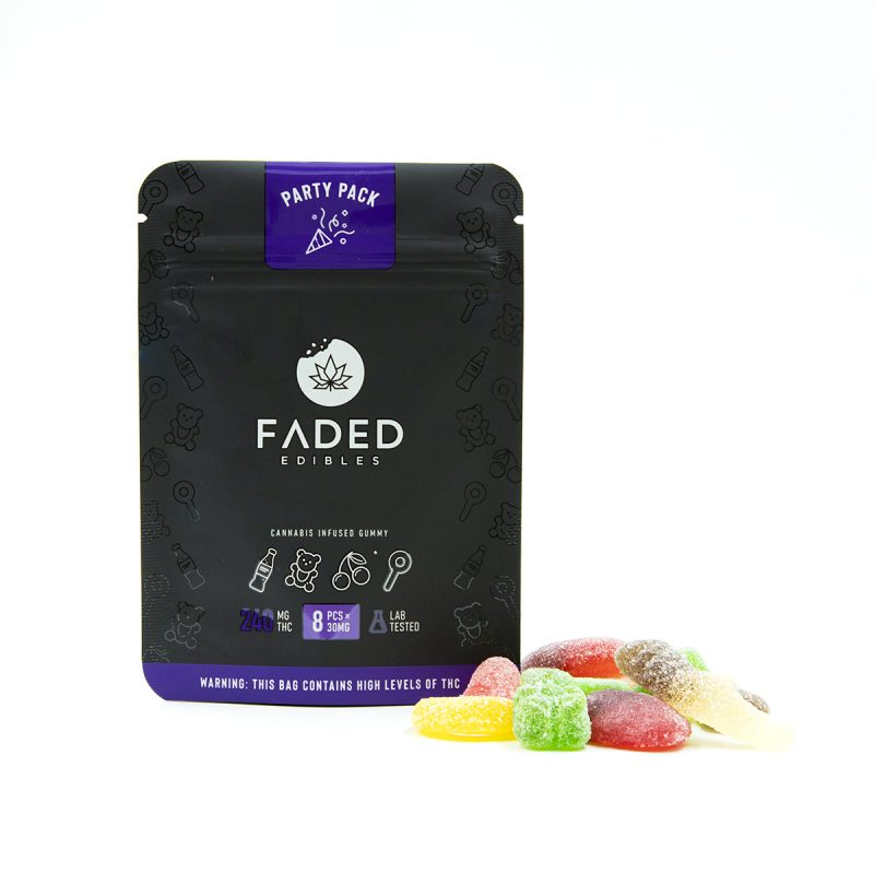 Faded Party Pack (240mg THC)