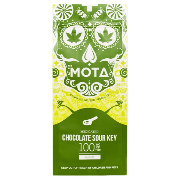 MOTA Chocolate Dipped Sour Key (100mg THC)
