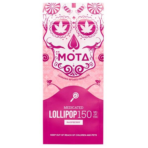 MOTA Raspberry Lollipop (150mg THC)