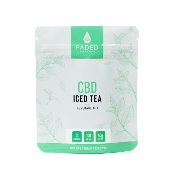 CBD Iced Tea (100mg CBD) (2 Servings)