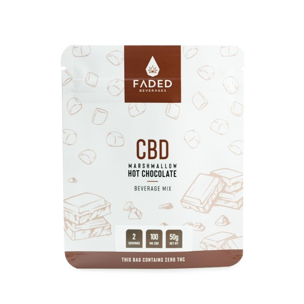 CBD Hot Chocolate (100mg CBD) (2 Servings)