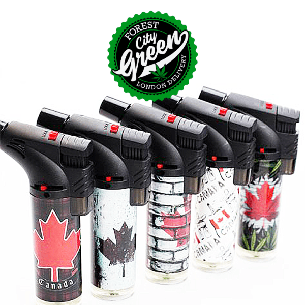 Soul Torch Lighter Canada forestcitygreen