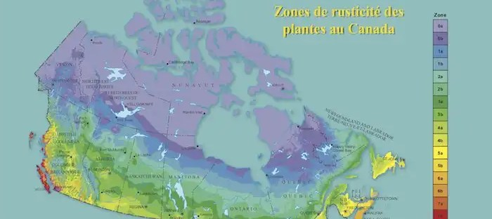 Canadian Plant Hardiness Index Zones based on seven criteria - Natural Resouces Canada