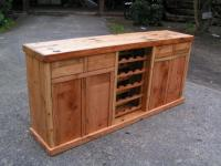 Oregon Pine With Wine Rack | Forest Creations