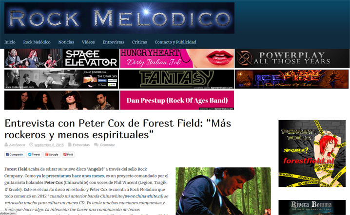 interview foreswt field rock melodico