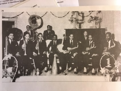 ELMER RADD COTTON CLUB BAND